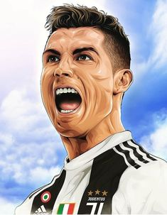 Looking for New 2019 Juventus Wallpapers of Cristiano Ronaldo? So, Here is Cristiano Ronaldo Juventus Wallpapers and Images Cristiano Ronaldo Cr7, Neymar, Cristiano Ronaldo Portugal, Cristino Ronaldo, Cristiano Ronaldo Wallpapers, Ronaldo Football, Juventus Fc, Juventus Wallpapers, Portrait Vector