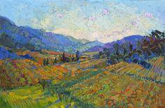 Napa In Color Painting - ERIN  HANSON