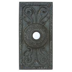 Craftmade Lighting Lighted Surface Mount Doorbell Button   PB3037-WB   Destination Lighting