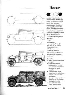como dibujar autos paso a paso - Autos y motos en Taringa! Car Drawing Pencil, Manga Drawing, Drawing Sketches, Car Design Sketch, Car Sketch, Digital Painting Tutorials, Art Tutorials, Architecture Drawing Art, Drawing Machine