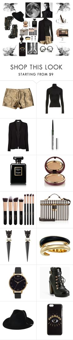 """""""Out of this world"""" by bossgamergirl ❤ liked on Polyvore featuring Michael Kors, FAUSTO PUGLISI, American Vintage, Marc Jacobs, Chanel, Wander Beauty, Henri Bendel, Alexis Bittar, Olivia Burton and Torrid"""