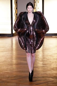 """Hybrid Holism"" collection AW 12, dress designed by Iris van Herpen"