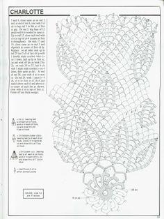 Decorative Crochet Magazines n° 49 - tristanime - Picasa Web Albums Crochet Doily Diagram, Filet Crochet Charts, Crochet Borders, Crochet Stitches Patterns, Crochet Doilies, Crochet Books, Crochet Home, Love Crochet, Yarn Thread