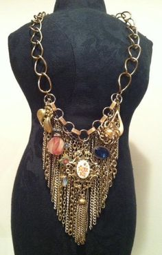 Vintage Boho Statement Necklace $25! now does this necklace make statement or what?!!
