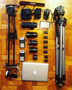 "463 Gostos, 3 Comentários - What's In Your Video Bag? (@myvideobag) no Instagram: ""Follow @joao.alkmim ・・・ Vêm aí novidades! #canon #6d #filmgear #gearporn #lensporn #setlife #film…"""