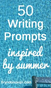 50 Writing Prompts Inspired by Summer