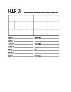 Project Life Printable Planner