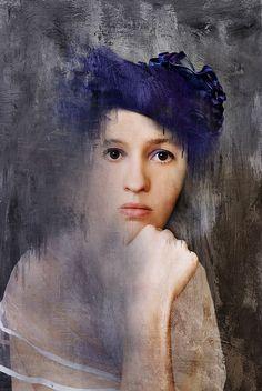 Anna Bodnar - Self Portrait....lovely