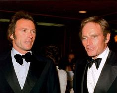 Clint Eastwood & Charlton Heston
