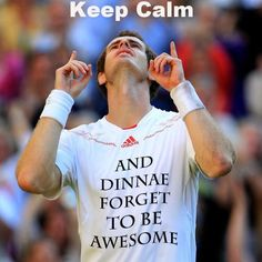 Andy Murray - Wimbledon 2012... Well done Andy!!
