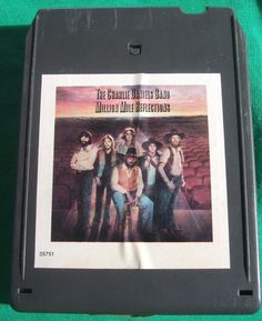 Charlie Daniels Band Million Mile Reflections 8 Track Tape Stereo Cartridge Tested Works Devil Went Down to Georgia 1979 CBS Epic Records by ManHoard