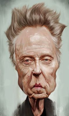 Christopher Walken by Sebastián Cast