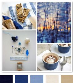 Blue And Khaki Inspiration