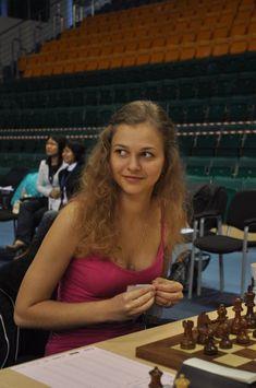 Anna Muzychuk - chess beauty