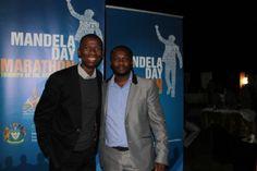 #MandelaMarathon race director @LezMoeti w #Ambassador @MakhosiKhoza1