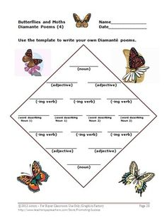 This 39 page thematic unit focuses on the life cycle of a butterfly for kids. It also includes moths. Science and language arts skills are the main focus. This unit begins with a little book full of fun facts about butterflies and moths.