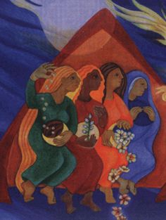The Women Disciples of Jesus—An Online Retreat | prepared by Women at the Well Ministry, St. Paul, Minnesota Eleanor Lincoln, CSJ and Catherine Litecky, CSJ |  Inage by Sister Ansgar Holmberg, CSJ