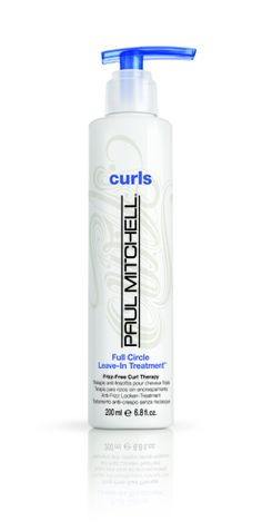 frizz-free curl therapy from Paul Mitchell