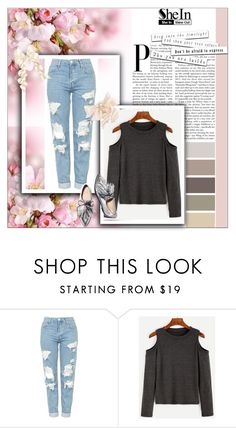 """Bez naslova #82"" by arminam ❤ liked on Polyvore featuring Topshop and Loeffler Randall"