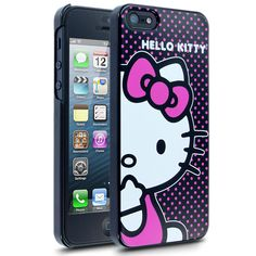 afba14968 Hello Kitty Polka Dots Case for Apple iPhone 5 Apple Iphone 5, New Iphone,
