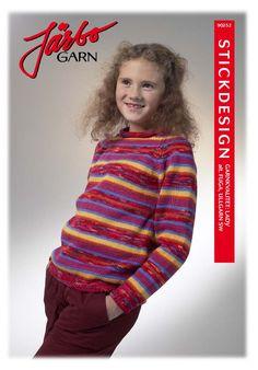 Lovely striped children's sweater.
