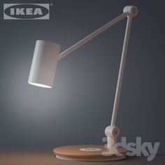 IKEA RIGGAD Work lamp with wireless charging
