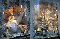 more than lived up to its reputation for having the most lavish Christmas Window Displays