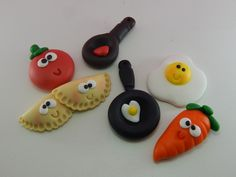 Mini Food Kawaii Charms Miniature Food Jewelry Polymer Clay Jewelry Handmade by Sweet Clay Creations Taco Avocados S'mores Hot Dog Pancakes Banana Waffle Ice Cream Sandwich Cute Polymer Clay, Polymer Clay Miniatures, Polymer Clay Projects, Polymer Clay Creations, Diy Clay, Cute Clay, Rock Crafts, Bead Crafts, Diy And Crafts