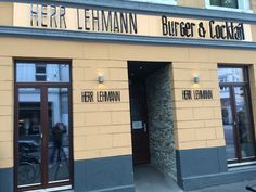 Herr Lehmann - Burger Restaurant in Bonn