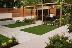 Giardino in stile in stile Moderno di Hannah Collins Garden Design - homify / Hannah Collins Garden Design