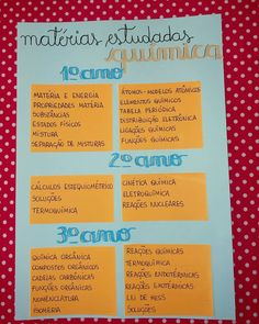 Study Organization, School Study Tips, Lettering Tutorial, Studyblr, Study Notes, Study Motivation, I School, Chemistry, Vocabulary