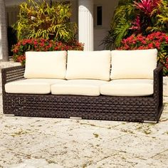 (CLICK IMAGE TWICE FOR UPDATED PRICING AND INFO) #home #patio  #sofa #outdoor #outdoorsofa #patiosofa #gardensets #loungechair #outdoorpatiosofa  see more patio sofa at http://zpatiofurniture.com/category/patio-furniture-categories/patio-sofa/ - Source Outdoor Matterhorn Sofa, Natural « zPatioFurniture.com