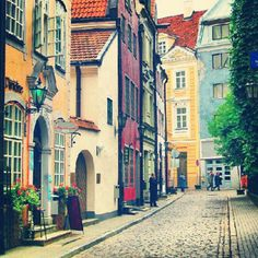 Old Riga - youthful in colors.