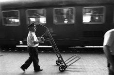 Ferdinando Scianna ITALY. Sicily Taormina, Rail station