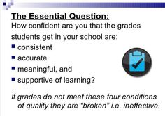 If grades in your class don't meet these four conditions, then they are broken. via @DrBrianWright #edchat