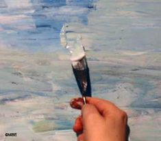 An introduction to using a painting knife rather than a brush, including selecting a suitable knife to get you started.: How to Get Paint onto a Painting Knife