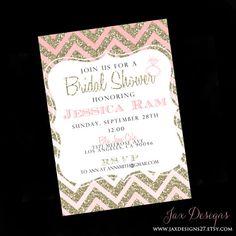 Wedding  Bridal Shower Invites by JaxDesigns27 on Etsy, $2.00
