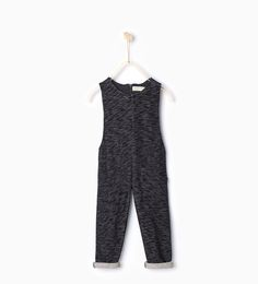 Image 1 of Plush jumpsuit from Zara
