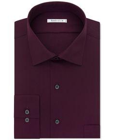 Van Heusen Big and Tall Tek Fit Collar Solid Dress Shirt