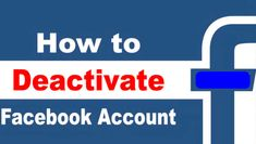 Delete or Deactivate Your Account Account Facebook, Delete Facebook, Facebook Profile, Deactivate Facebook, Quick News, Just Tired, Accounting, Shit Happens, Learning