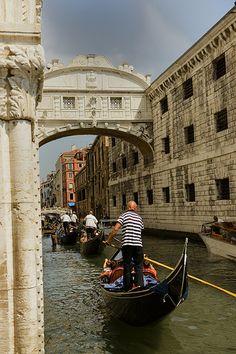 Bridge of Sighs ~ Venice, Italy