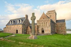 Iona Abbey - Burial site for the following Kings of the Picts aka Kings of Alba/Scotland: Donald II (d. 900), Malcolm I (900 - 954), Kenneth II (932 - 995), Malcolm II (954 - 1034) - all Mike's Great Great Grandfathers.