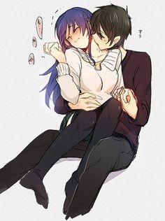 New Drawing Anime Couples Kisses Heart Ideas Anime Couple Kiss, Manga Couple, Anime Couples Manga, Romantic Anime Couples, Cute Anime Couples, Manga Art, Manga Anime, Anime Amor, Tamako Love Story