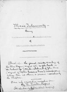 W. Foster Rogers, 'Man's Inhumanity, Being a Chaplain's Chronicles of Norfolk Island in the Forties, based upon the journal, records and writings of Rev. Thos. Rogers'. Mitchell Library, State Library of New South Wales: https://ad01-pd12-cbr01-au.funnelback.com/search/itemDetailPaged.cgi?itemID=447064