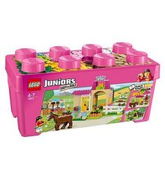 LEGO juniors pony farm! The girls will love it!
