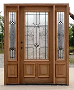 front door with sidelights and transom saratoga | Exterior Doors with Sidelights