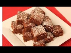 Homemade Cakey Brownies Recipe - Laura Vitale - Laura in the Kitchen Episode 451
