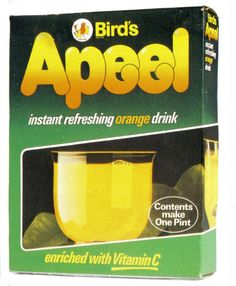 Does anyone remember Appeal orange juice? It was powdered orange juice that you just added water to and one sachet made a jug full. 1970s Childhood, My Childhood Memories, Childhood Toys, Retro Recipes, Vintage Recipes, Retro Toys, Vintage Toys, Orange Drinks, Orange Juice