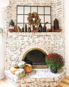 Here are a few ways to liven up those tablescapes and fireplaces with the infamous orange veg. And the best part is, you can cook your decor when you're ready for a new look. #hunkerhome #fall #falldecor #falldecorideas #pumpkindecor Pumpkin Decorating, Fall Pumpkins, Interior Design Inspiration, Tablescapes, Fall Decor, Make It Yourself, Holiday, Fireplaces, Orange
