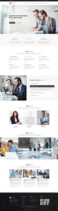 Bolton is a wonderful #PSD #theme suitable for all types of Consulting #business website with 3 homepage layouts and 17 PSD pages download now➩ https://themeforest.net/item/bolton-consulting-psd-template/18531904?ref=Datasata